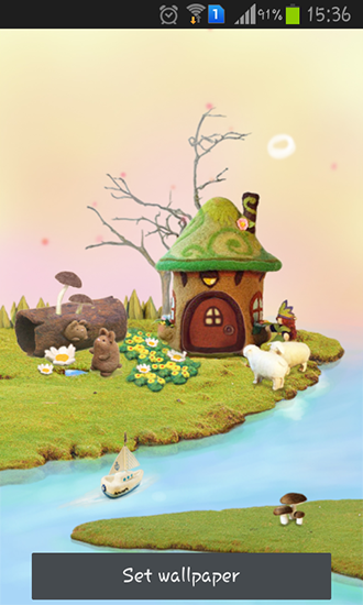 Download Fairy house free livewallpaper for Android 6.0 phone and tablet.