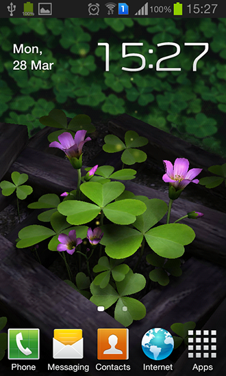 Download Flowers 3D free livewallpaper for Android 4.4.4 phone and tablet.