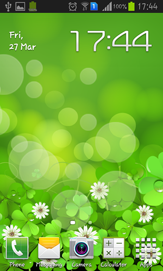 Download Lucky clover free livewallpaper for Android 4.0.1 phone and tablet.