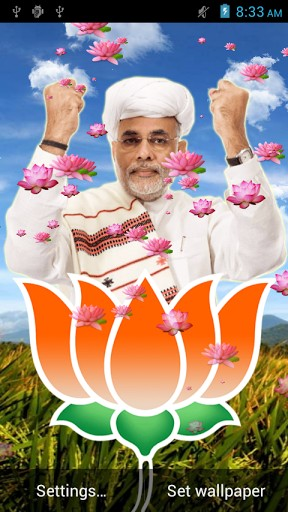 Download Narendra Modi free livewallpaper for Android 5.1 phone and tablet.