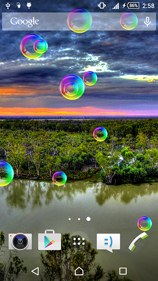 Download Peaceful free livewallpaper for Android 4.4.2 phone and tablet.