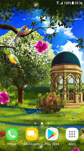 Spring landscape apk - free download.