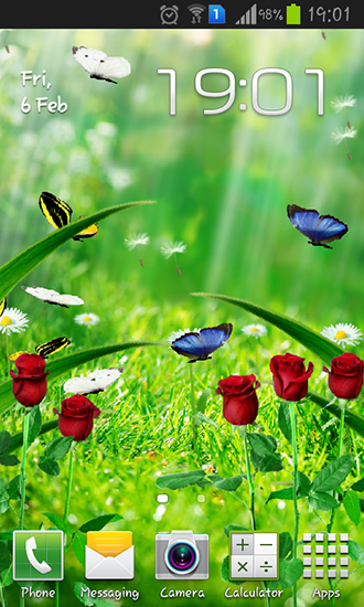 Summer Garden Live Wallpaper Free Download For Android