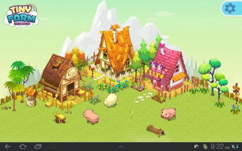 Download Tiny farm free livewallpaper for Android 5.1 phone and tablet.