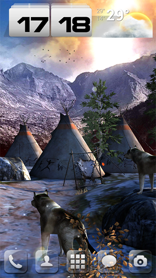 Native american 3D pro full apk - free download.