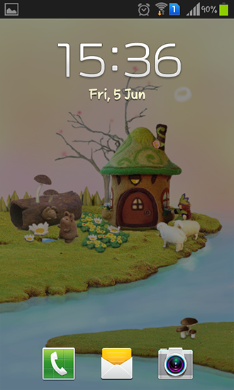 Full version of Android apk livewallpaper Fairy house for tablet and phone.