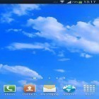 Download live wallpaper Blue sky for free and Thunderstorm by live wallpaper HongKong for Android phones and tablets .