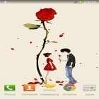Download live wallpaper Cartoon girl for free and Blue skies for Android phones and tablets .