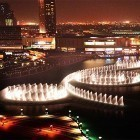 Download live wallpaper Dubai fountain for free and Spring landscape for Android phones and tablets .