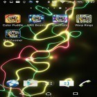 Download live wallpaper Energy beams for free and Spring landscape for Android phones and tablets .