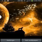 Download live wallpaper Howling space for free and Cute by EvlcmApp for Android phones and tablets .