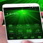 Download live wallpaper Laser green light for free and Romantic waterfall 3D for Android phones and tablets .