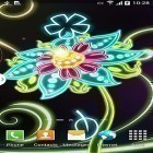Neon flowers by Live Wallpapers 3D apk - download free live wallpapers for Android phones and tablets.