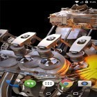 Download live wallpaper New Engine for free and Deep space 3D for Android phones and tablets .