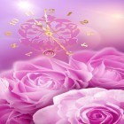 Rose picture clock by Webelinx Love Story Games apk - download free live wallpapers for Android phones and tablets.