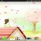 Download live wallpaper Sakura by live wallpaper HongKong for free and Spring landscape for Android phones and tablets .