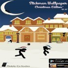 Download live wallpaper Stickman for free and Snow winter for Android phones and tablets .