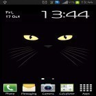 Download live wallpaper Black cat for free and Magic garden by Jango LWP Studio for Android phones and tablets .