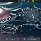 Download live wallpaper Black clock for free and Dolphins sounds for Android phones and tablets .