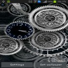 Download live wallpaper Black clock by Mzemo for free and Water ripple for Android phones and tablets .