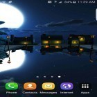 Download live wallpaper Cartoon night town 3D for free and Twilight mirror for Android phones and tablets .