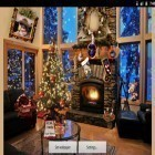 Download live wallpaper Christmas fireplace for free and Luxury by HQ Awesome Live Wallpaper for Android phones and tablets .