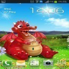 Download live wallpaper Cute dragon for free and Tree with falling leaves for Android phones and tablets .