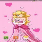 Download live wallpaper Cute princess for free and Cute by EvlcmApp for Android phones and tablets .