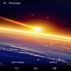 Download live wallpaper Earth and space for free and Sakura pro for Android phones and tablets .