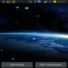 Download live wallpaper Earth from Moon for free and Flower 360 3D for Android phones and tablets .