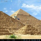 Download live wallpaper Egyptian pyramids for free and Cars clock for Android phones and tablets .