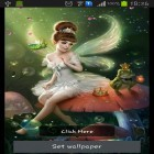 Download live wallpaper Flower fairy for free and Magic garden by Jango LWP Studio for Android phones and tablets .