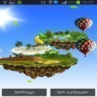 Download live wallpaper Flying islands for free and Nature by Creative Factory Wallpapers for Android phones and tablets .