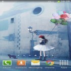 Download live wallpaper Girl and rainy day for free and God of war for Android phones and tablets .