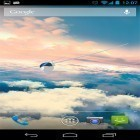 Download live wallpaper Glider in the sky for free and Fire dragon 3D for Android phones and tablets .
