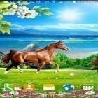 Download live wallpaper Horses by Villehugh for free and Despicable me 2 for Android phones and tablets .
