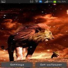 Download live wallpaper Lion for free and Nature HD by Live Wallpapers Ltd. for Android phones and tablets .