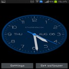 Download live wallpaper Modern clock for free and Metaballs liquid HD for Android phones and tablets .