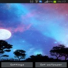 Download live wallpaper Nightfall for free and Water ripple for Android phones and tablets .