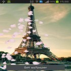 Download live wallpaper Pairs: Eiffel tower for free and Romantic waterfall 3D for Android phones and tablets .