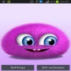 Download live wallpaper Pink fluffy ball for free and Cars clock for Android phones and tablets .