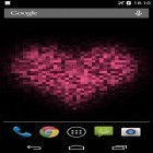 Download live wallpaper Pixel heart for free and Water ripple for Android phones and tablets .