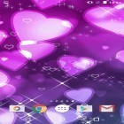 Download live wallpaper Purple hearts for free and Water ripple for Android phones and tablets .