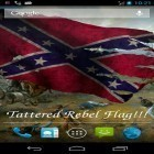 Download live wallpaper Rebel flag for free and Waterfall by Red Stonz for Android phones and tablets .