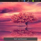 Download live wallpaper Red tree for free and Moonlight by 3D Top Live Wallpaper for Android phones and tablets .