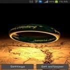 Download live wallpaper Ring of power 3D for free and God of war for Android phones and tablets .