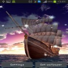 Download live wallpaper Sailing ship for free and Scottish fold cat for Android phones and tablets .