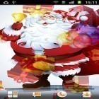 Download live wallpaper Santa Claus for free and Cute cat by Psii for Android phones and tablets .