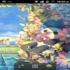 Download live wallpaper Sky garden for free and Flower 360 3D for Android phones and tablets .