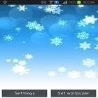 Download live wallpaper Snowflake for free and Cute cat by Psii for Android phones and tablets .